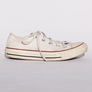 Converse white chuck taylor all star sneakers 4